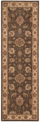 NOURISON HERITAGE HALL SABLE AREA RUG