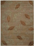 NOURISON JULIAN BROWN AREA RUG