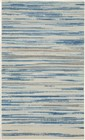 Nourison Jubilant Transitional Blue Rug JUB04