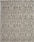 Nourison Jubilant Transitional Grey Rug JUB09