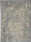 Kathy Ireland Home Ki39 Sahara Contemporary Blue Rug KI395