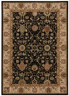 KATHY IRELAND LUMIERE STATEROOM ONYX AREA RUG BY NOURISON
