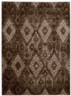 NOURISON KARMA CHOCOLATE AREA RUG