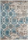 Nourison Karma Ivory Blue Area Rug