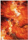 Red Flame Rug