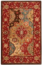NOURISON LIVING TREASURES MULTICOLOR AREA RUG