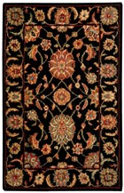 NOURISON LIVING TREASURES BLACK AREA RUG