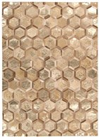 MICHAEL AMINI CITY CHIC AMBER GOLD AREA RUG BY NOURISON
