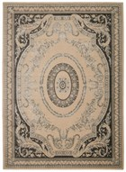 MICHAEL AMINI PLATINE IVORY AREA RUG BY NOURISON