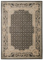 MICHAEL AMINI PLATINE CHARCOAL AREA RUG BY NOURISON