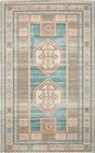 Nourison Madera Teal Green Area Rug