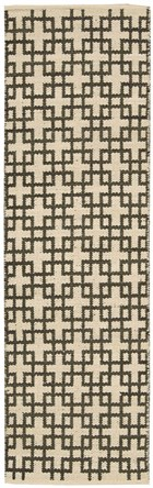 BARCLAY BUTERA MAZE BARK AREA RUG BY NOURISON