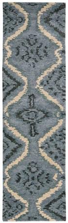 NOURISON TAHOE MODERN DENIM BLUE AREA RUG