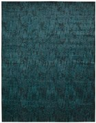 NOURISON NIGHTFALL PEACOCK AREA RUG