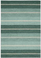 BARCLAY BUTERA OXFORD SEAGLASS AREA RUG BY NOURISON