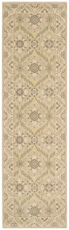NOURISON PERSIAN EMPIRE LIGHT GOLD AREA RUG