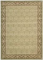 NOURISON PERSIAN EMPIRE GREEN AREA RUG