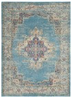 Nourison Passion Transitional Light Blue Rug PSN03
