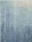 Nourison Passion Transitional Navy-Light Blue Rug PSN09
