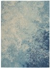 Nourison Passion Transitional Navy-Light Blue Rug PSN10