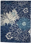 Nourison Passion Contemporary Navy Rug PSN17