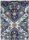 Nourison Passion Transitional Blue Rug PSN31