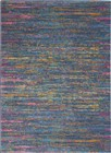Nourison Passion Contemporary Blue Rug PSN35