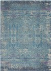 Nourison Passion Transitional Blue Rug PSN38
