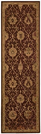 NOURISON REGAL CHOCOLATE AREA RUG