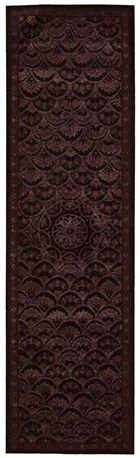 NOURISON REGAL ESPRESSO AREA RUG