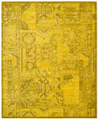 NOURISON SILK INFUSION YELLOW AREA RUG