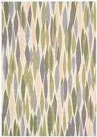 WAVERLY SUN & SHADE BITS & PIECES VIOLET AREA RUG BY NOURISON