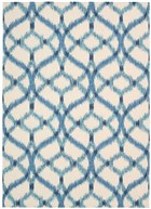 WAVERLY SUN & SHADE IZMIR IKAT AEGEAN AREA RUG BY NOURISON
