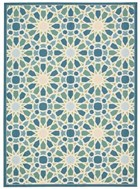 WAVERLY SUN & SHADE STARRY EYED PORCELAIN AREA RUG BY NOURISON