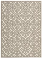WAVERLY SUN & SHADE LACE IT UP STONE AREA RUG BY NOURISON