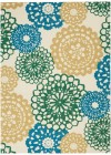 Nourison WAV01/SUN & SHADE Eclectic Rugs SND72