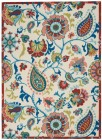 Nourison WAV01/SUN & SHADE Floral Rugs SND73