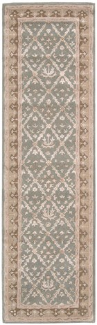 NOURISON SYMPHONY LIGHT GREEN AREA RUG