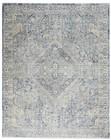 Nourison Silken Weave Indoor Only Blue-Ivory Rug SLW02