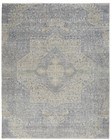 Nourison Silken Weave Indoor Only Blue-Grey Rug SLW04