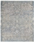 Nourison Starry Nights Traditional Cream Blue Rug STN01