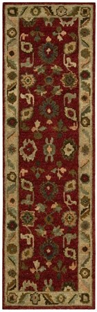 NOURISON TAHOE RED AREA RUG