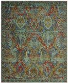 NOURISON TIMELESS TURQUOISE AREA RUG