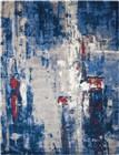 Nourison Twilight Grey/Blue Area Rug