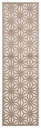Ivory Silver Rug