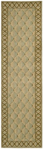 NOURISON VALLENCIERRE LIGHT GREEN AREA RUG