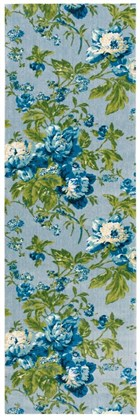 WAVERLY ARTISANAL DELIGHT FOREVER YOURS SKY AREA RUG BY NOURISON
