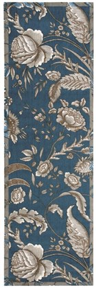 WAVERLY ARTISANAL DELIGHT FANCIFUL INDIGO AREA RUG BY NOURISON