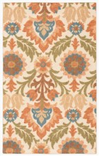 WAVERLY GLOBAL AWAKENING SANTA MARIA PEAR AREA RUG BY NOURISON