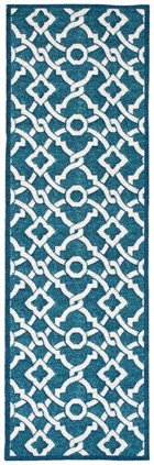 WAVERLY TREASURES ARTISTIC TWIST BLUE JAY AREA RUG BY NOURISON